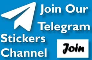 Join our telegram stickers channel